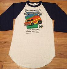 "Vintage 1985s Pennsylvania ""Dutch X"" 50/50% Sportswear Baseball T-Shirt. Size S"