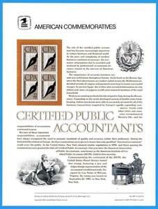 USPS Commémorative Panneau #305 Cpas #2361