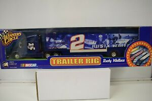 Rusty Wallace #2 Winner's Circle 2001Transporter Trailer Rig 1:64 scale