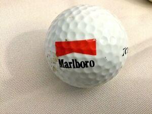 LOGO Vintage Top Flite Tour GOLF BALL ~ RARE ~ Marlboro
