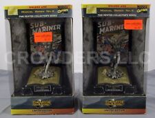 2x Marvel Limited Comic Book Champions Golden Age Sub-Mariner Fine Pewter Series