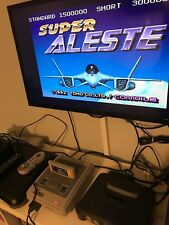 Super Aleste Game - Super Nintendo SNES Pal Arcade Classic
