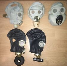 Set of 3 gas mask PBF,GP-5M, SHMS