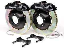 Brembo Front Gt Brake 6pot Caliper Black 355x32 Slot Rotor 996 997 Carrera 4 C4 Fits Porsche