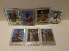 1961 Topps #211 Bob Gibson +4 other Hof St Louis Cardinals