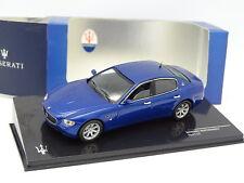 Ixo 1/43 - Maserati Quattroporte Sport GT Bleue