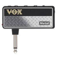 VOX AP2MT amPlug 2 Headphone Mini Practice Guitar Amplifier Amp Metal AP2 MT