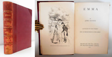 1910 Jane Austen EMMA Illustrated H. Thomson Intro A. Dobson English Literature
