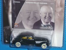 HOT WHEELS Hall of Fame Gordon Miller Buehrig '36 Cord Legends Hwy 35 Real Rider