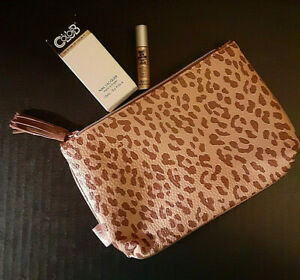 Ipsy November 2019 Cheetah / Leopard Bag with 2 items FREE SHPPING