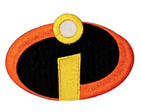 The Incredibles Patch for Embroidery, Cloth Patches Badge Iron Sew On