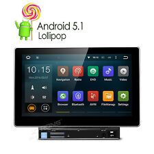 "2 Din 10,1"" Autoradio DVD Android 5,1 Quad Core OBD2 DAB+ GPS Screen Mirror WiFi"