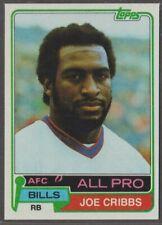 1981 TOPPS FOOTBALL #360 JOE CRIBBS ROOKIE NMMT