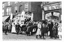 pu0013 - Salvation Army Red Cross Procession, Doncaster , Yorkshire - photograph