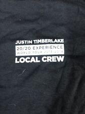 Vintage Shirt - Justin Timberlake 20/20 Experience World Tour Local Crew 2014 Xl