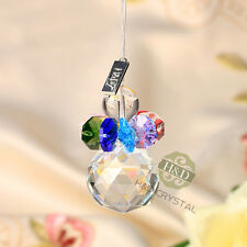 Hanging Pendulum Rainbow Maker Suncatcher Crystal Prisms Ball Pendants Xmas Gift