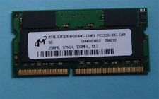 256MB RAM Speicher IBM ThinkPad 600 600E 600X 770X 770Z Dell CPi PPX Memory