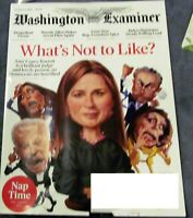 THE WASHINGTON EXAMINER OCTOBER 6 2020- WHAT'S NOT TO LIKE? AMY CONEY BARRETT
