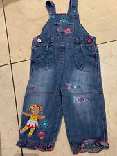Rare Upsy Daisy In The Night Garden  Denim Dungarees Age 12-18 Months
