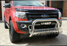 Nudge Bar Stainless Steel Grill Guard to suit Ford Ranger PX MK MKII 2011-2018