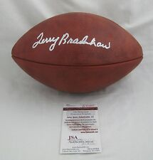 TERRY BRADSHAW signed/autographed Official Wilson Duke NFL Football--JSA W829857