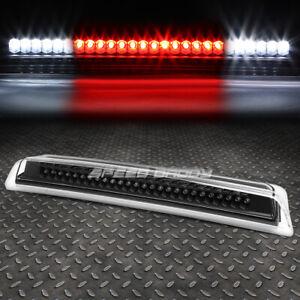 FOR 04-15 NISSAN TITAN FRONTIER LED THIRD 3RD TAIL BRAKE LIGHT CARGO LAMP BLACK