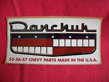 Danchuk Chevy Parts Sticker Decal