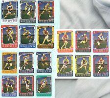 #BB.   2012 WEETBIX AFL CAPTAIN WILDCARD 18 CARD SET