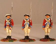 Conte REVOLUTIONARY WAR British Army Attention  PAT 216 3 figs