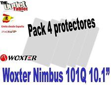 """Pack 4 Protectores de pantalla Tablet Woxter NIMBUS 101Q 10.1""""  101 Q UNIVERSAL"""