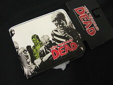 AMC TV The Walking Dead Evil Governor Comic Book Character Bi Fold Wallet Zombie