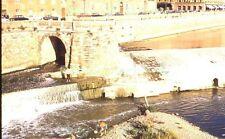Florence Italy Street River View Men Fishing Original 1967 Kodak 35mm Slide