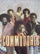 The Commodores =Motown 40Th Anniversary Poster- Very Rare-1998-Mint