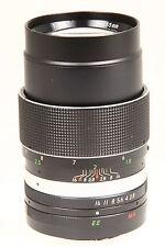 Uniron 2,8/135mm Auto Tele Objektiv mit Konica AR Anschluss #8144224