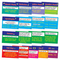 17 X Punctuation Literacy Primary School Posters A4 For Classrooms Display Decor