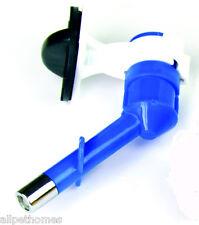 Rabbit Guinea Pig water bottle drinker SIPPER SPOUT FOR BOTTLE, LARGE  BLUE