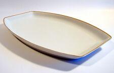 Krautheim & Adelberg Selb Platte Fleischplatte Mod. 7800 Goldrand Art Deco