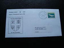 CANADA - enveloppe 1990 (cy74)