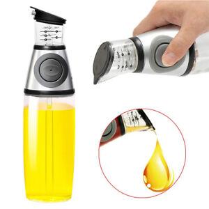 500ml Oil Vinegar Dispenser Glass Bottle with Measurements Oil Sprayer Dispenser
