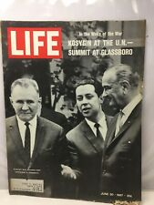 Life - June 30, 1967 In The Wake Of War Kosygin At The Un Summit Glassboro