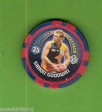 #T53. 2009 AFL CHIPZ TAZO, SIMON GOODWIN, ADELAIDE CROWS