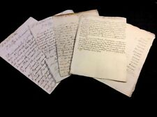 COLLECTION OF SIX ANTIQUE LETTERS  1806s