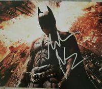 Christian Bale signed Batman 8x10 Photo