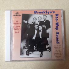 BROOKLYN'S DOO WOP SOUND -  ALJON MASTERS VOL 2  - BRAND NEW -  CD