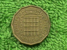 GREAT BRITAIN 3 Pence 1964