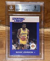 Pop 7!🔥1988 Magic Johnson KENNER STARTING LINEUP #36 BGS 9 w/ 9.5 sub PSA fleer