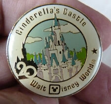 PIN'S WALT DISNEY WORLD CHATEAU CENDRILLON 20 ANS CINDERELLA'S CASTLE
