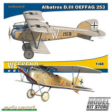 Albatros D. III OEFFAG 253 - 1/48 Weekend editon Eduard Model Kit #84152