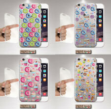 Cubierta para ,IPHONE, Transparente, Silicone, Suave, Magdalena, Chocolate,