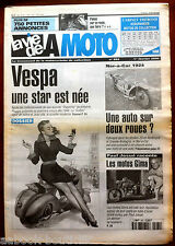 LVM - La Vie de la Moto n° 264 de 2000; Dossier Vespa/ Ner-a-car 1924/ Paul Josu